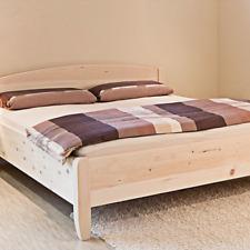 'Einzel-/Doppelbett Massivholzbett Zirbenbett Bett aus Zirbe Arvenbett BIO