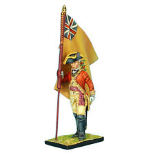 First Legion: AWI042 British 22nd Foot Standard Bearer - Regimental Colors