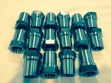 "SET OF (16)1.25""-12 WELD ON TUBE ADAPTER HEX 8 RH AND 8LH OFF ROAD 4 LINK BUNG"