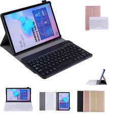 "Bluetooth Keyboard Wireless Leather Tablet Case For Samsung Galaxy Tab.A 8"" T290"