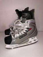NIKE BAUER VAPOR XXV ICE HOCKEY SKATES TUUK Men's 8D Slate = Shoe Size 9.5