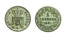 pcc1590_60) Bayern Bavaria  Massimiliano II. 1 Kreuzer 1841