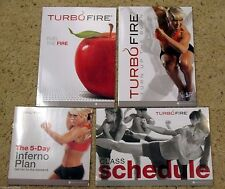 TURBO FIRE - FITNESS GUIDE + NUTRITION GUIDE + CALENDAR - NO DVDS