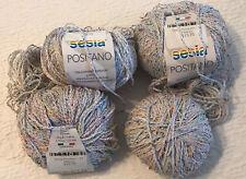 SESIA Positano Cotton/Viscose/Polyamid Glacier Yarn Lot