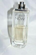 Calvin Klein 100ml Eternity Now Eau De Parfum approx 1/2 full EX demonstration