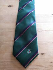 LOOK!!- ITALY PLAYERS RUGBY TIE - SUPERB!!