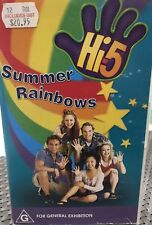 Hi 5 Summer Rainbows VHS Tape