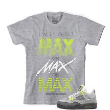 Tee para que coincida con Air Jordan Retro 4 se voltios Air Max. Max Tee