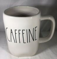 "Rae Dunn Artisan Collection "" CAFFEINE "" LL Coffee Mug By Magenta Brand New"
