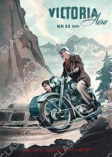 Victoria KR 25 KR25 HM Aero Motorrad Poster Plakat Bild Reklame Affiche Schild