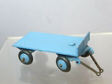 "VINTAGE DINKY TOYS MODEL No.25g TRAILER  ( BLUE  VERSION ) TINPLATE HOOK ""RARE"""