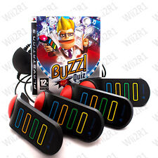 Buzz Quiz TV for PS3 INCLUDES WIRED BUZZERS Family & Kids 12+ *1ST CLASS POST*