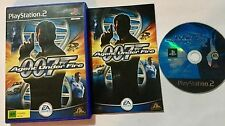 James Bond 007 Agent Under Fire Sony Playstation 2 PS2 Game AUS PAL Complete