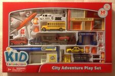 Kid Connection~Play Sets~Lot Of 3~City, Construction, Rescue Adventure Play Sets