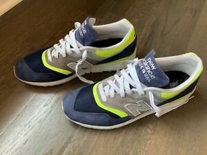 New Balance 997 M997LBL Blue Lime Made In USA Size 13