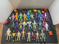 Vintage 1980s Real Ghostbusters Toy Action Figure Ghost Lot (Kenner)