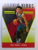 2018-19 Panini Donruss Rookie Kings Trae Young RC #24, Atlanta Hawks