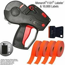 Monarch 1131 Price Labels Starter Kit Includes Pricing Gun, 10, 000 Fluorescent