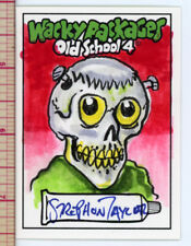 2012 Wacky Packages Old School Series 4 Ghoul Humor Sketch Card Strephon Taylor