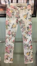 NEW Authentic Robin's Jean New Women Straight Leg Floral Pants Size 24