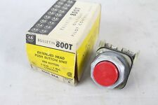 NEW IN BOX NEW NIB ALLEN BRADLEY 800T-B6A RED EXTENDED HEAD PUSH BUTTON