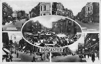 POSTCARD  YORKSHIRE - DONCASTER - 5 VIEWS   - CIRCA 1936 - II -  RP