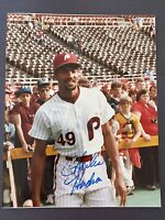 CHARLES HUDSON SIGNED 8X10 PHOTO AUTO AUTOGRAPH PHILADELPHIA PHILLIES