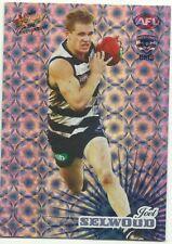 2008 AFL Select Champions Holofoil GEELONG CATS HF86 JOEL SELWOOD CARD