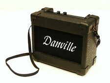 DANVILLE PORTABLE MINI AMP GUITAR AMPLIFIER - BATTERY OR AC POWERED