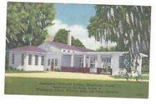 FL Orange Park Florida antique MOOSEHAVEN Post Card Northwest Bldg Commissary