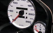 ALU ALUMINIUM TACHO TACHORINGE für AUDI 80 90 B3 B4 S2 Cabrio Coupe Limousine
