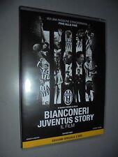 DVD BIANCONERI JUVENTUS STORY IL FILM FC JUVE EDIZIONE SPECIALE 2 DVD FILM