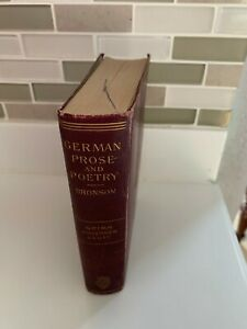 German Prose and Poetry Bronson Grimm Andersen Hauff 1895 Henry Holt and CO