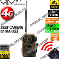 4G Trail Camera Home Security Hunting Scouting Cam Wireless IR No Spy Hidden 3G