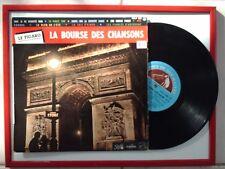 DISQUE : 33T/25cm / LA BOURSE DES CHANSONS N°4 - PATHE MARCONI FDLP 1099 M