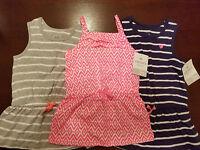 Carter's Playwear  Toddler Girls Sleeveless Top Size 2T 3T 4T  NWT