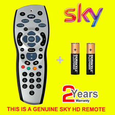 Genuine Original Replacement SKY120 Sky+ HD Remote Control With Batteries - NEW