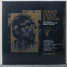 VARIOUS 'Strain Crack & Break: Music From Nurse With Wound List Vol 1' Vinyl 2LP