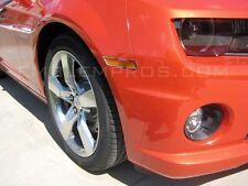 2010-2013 Camaro Front Side Marker Trim Mirror Stainless Steel