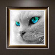 Green Eyes Cat 5D Diamond Embroidery Painting Cross Stitch DIY Craft Home Decor
