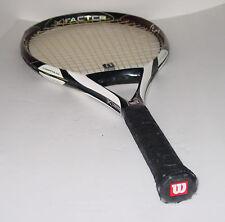 """WILSON K FACTOR K ZERO Tennis Racquet /  4-3/8"""" Grip -118 sq in Headsize -8.6 Oz"""