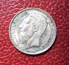 Belgique - Léopold II'-  Superbe  Monnaie de 50 Centimes 1898 FR