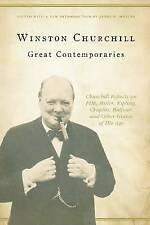 Great Contemporaries: Churchill Reflects on FDR, Hitler, Kipling, Chaplin, NEW