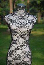 Black Handmade Lace Material Cover for Female Mannequin Dress Model Dummy H001