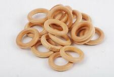 24mm Golden Tan Beads - 25 count