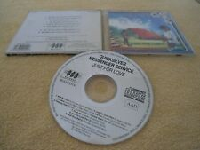 CD QUICKSILVER MESSENGER SERVICE - JUST FOR LOVE 1982 BGO Records BGO CD141 RAR