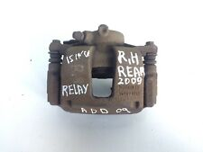 CITROEN RELAY / PEUGEOT BOXER 15-Inches REAR BRAKE CALIPER RIGHT SIDE BOSCH 2009
