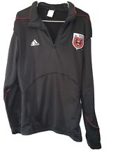 RARE DC UNITED ADIDAS FOOTBALL SOCCER WASHINGTON DC L Large Pullover