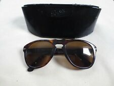 Persol brown frame polarized sunglasses. With case.