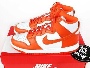 Nike Dunk High Syracuse Orange Blaze White UK 3 4 5 6 7 8 9 10 11 12 US New